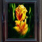 minha tulipa . bom dia