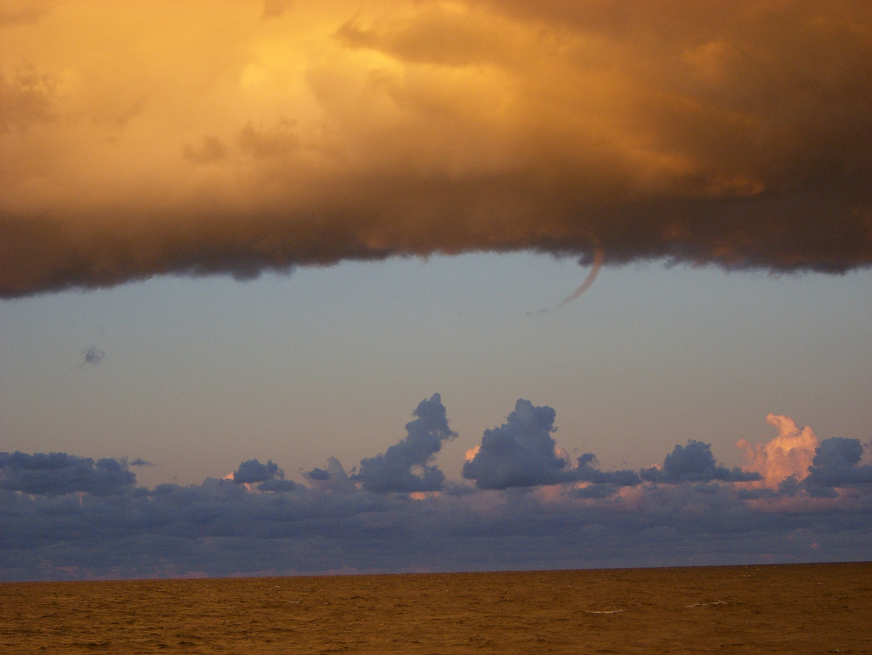 Mini-Tornado über der Ostsee 1.1