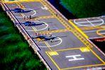 Miniatur Helicopter Airport New York (tilt shift)
