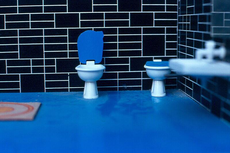 Miniatur WC