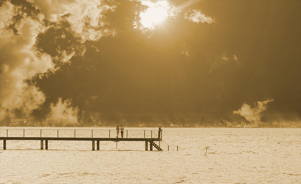Minimalismus und Einfachheit der Bodensee.