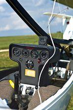 Minimalistisches Cockpit......
