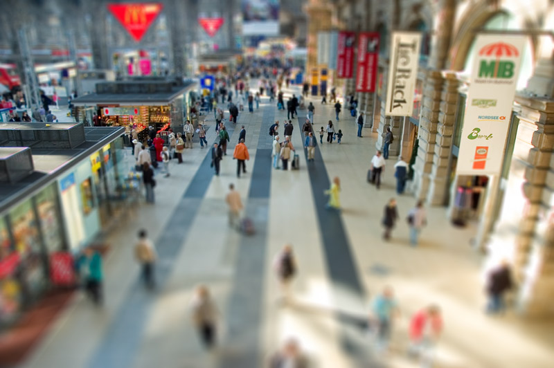 MINIME am Hauptbahnhof