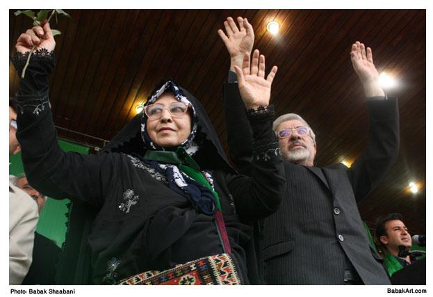 Mir Hossein Musavi & Zahra Rahnavard