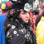 Mir u n b e k a n n t e Schönheit im Kölner Karneval