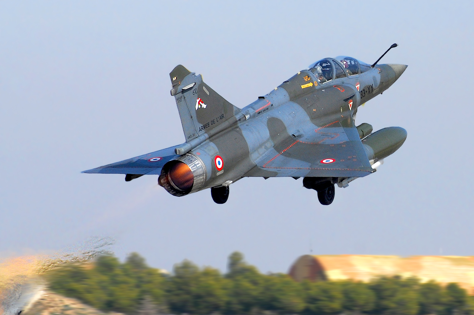 Mirage 2000 de la Fuerza Aérea Francesa