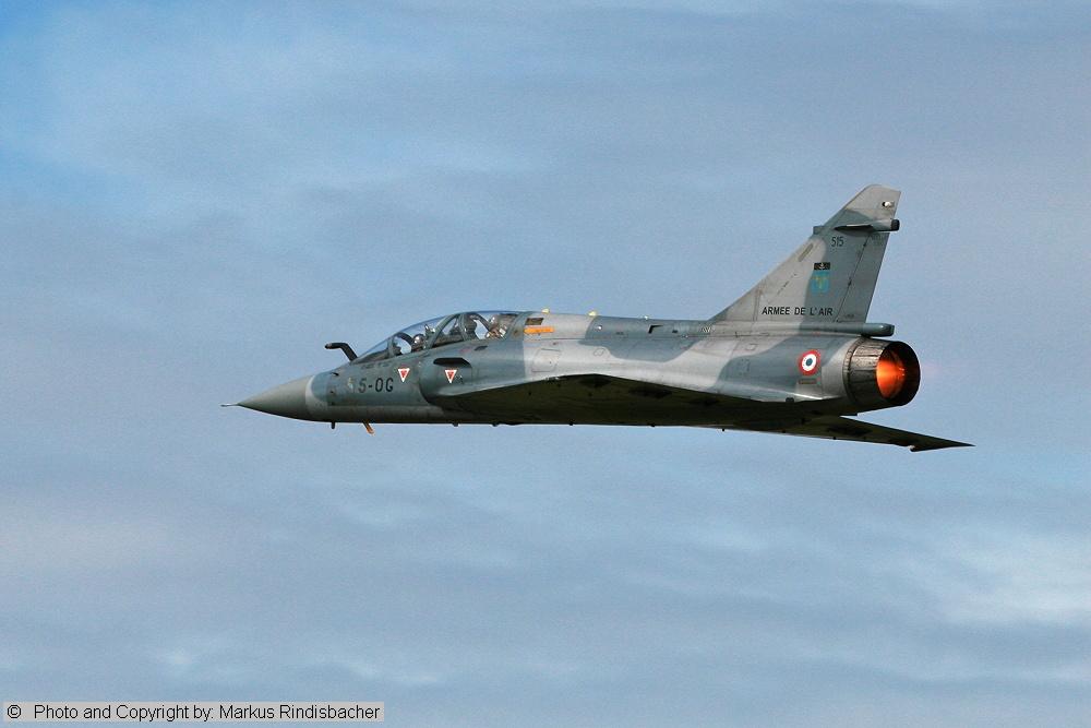 Mirage 2000 im Steigflug