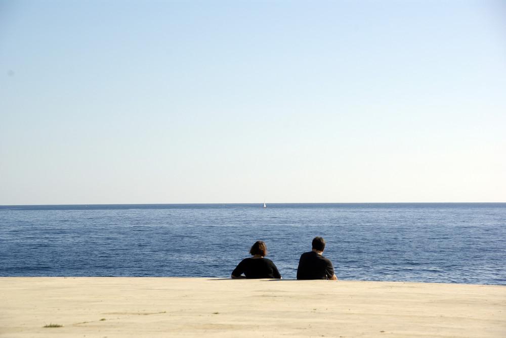 Mirando al mar ...