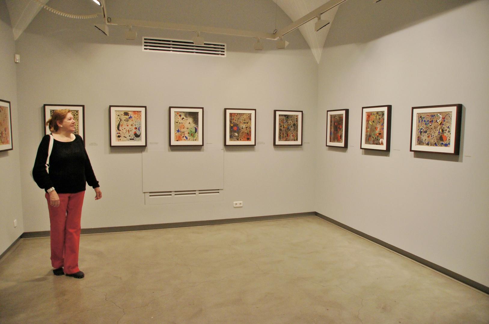 Mirando el Miró