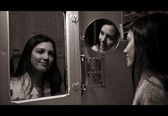 Mirrors.