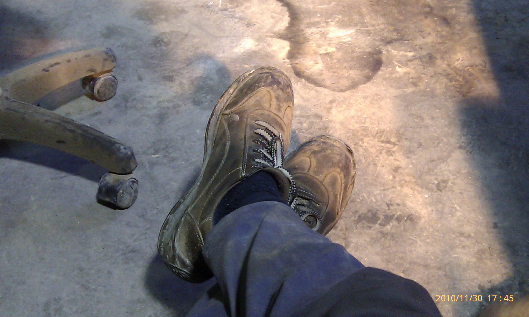 Mis viejos zapatos