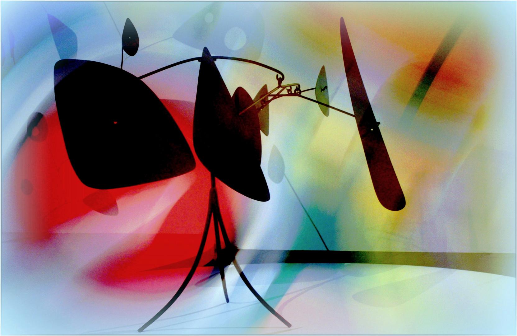 Mise en image perso d'un mobile de Calder