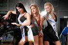 Miss Auto Zürich 2008 - Die 3 Gewinnerinnen der Misswahl