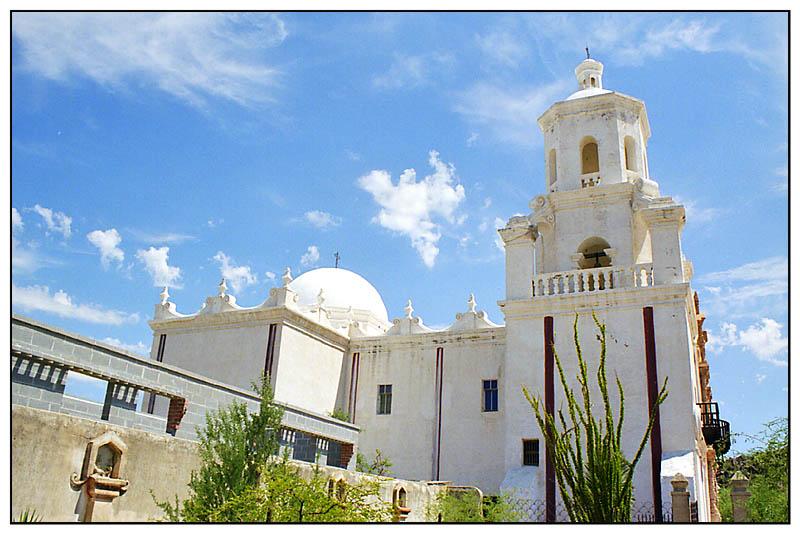 Missionskirche San Xavier del Bac - Arizona, USA