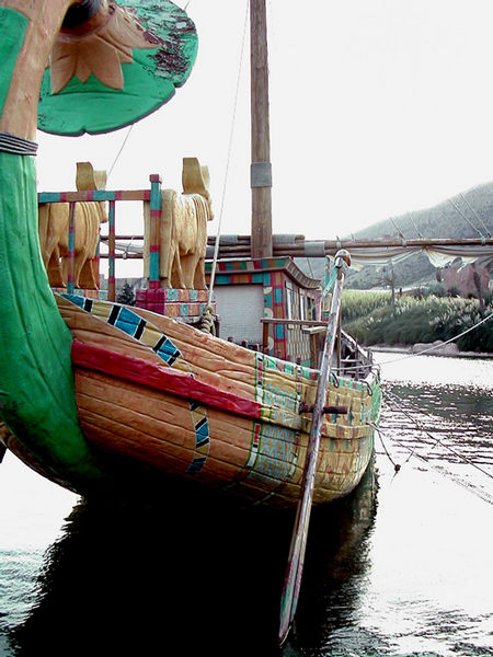 Mistic Boat on Mistic Land