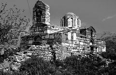 Mistra die ruinenstadt bei Sparta.   .DSC_6905