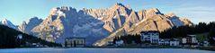 Misurinasee in den Dolomiten und zwar...