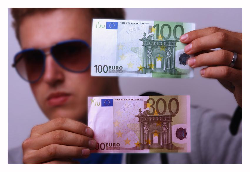 Mit 300 Euro einkaufen gehen
