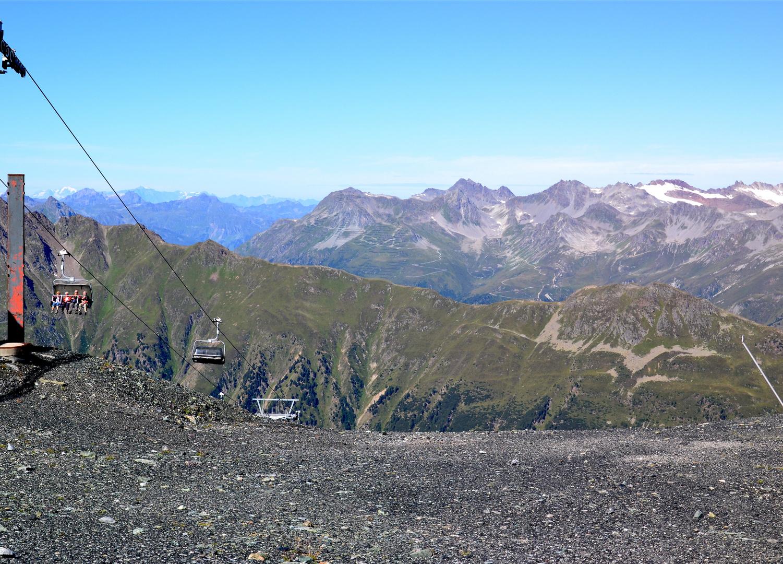 Mit 5 Seilbahnen von Tirol in die Schweiz (2)