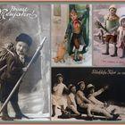 Mit alten Postkarten....
