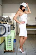 Mit Babette beim waschen!
