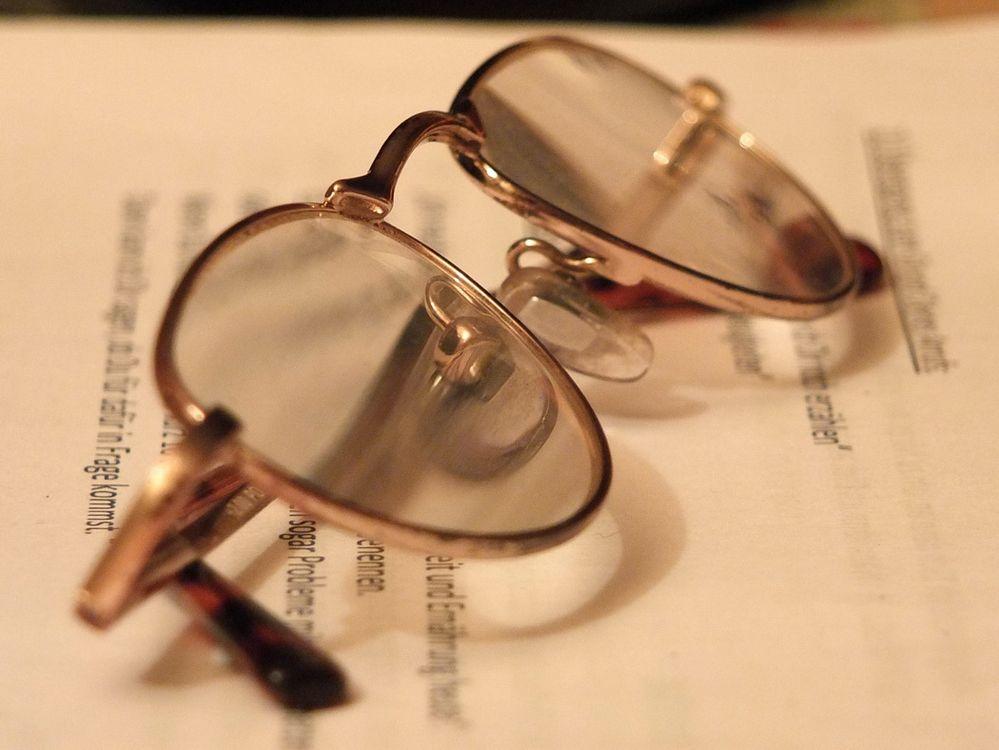 Mit Brille wärs schärfer