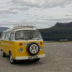 + mit Bulli durch Scotland +