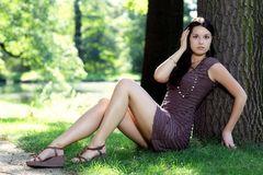 .....mit Cindy im Park