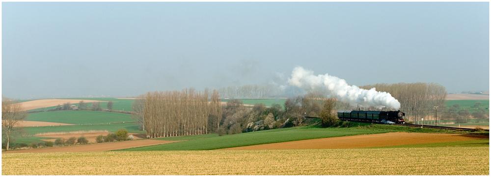 Mit Dampf in den Odenwald