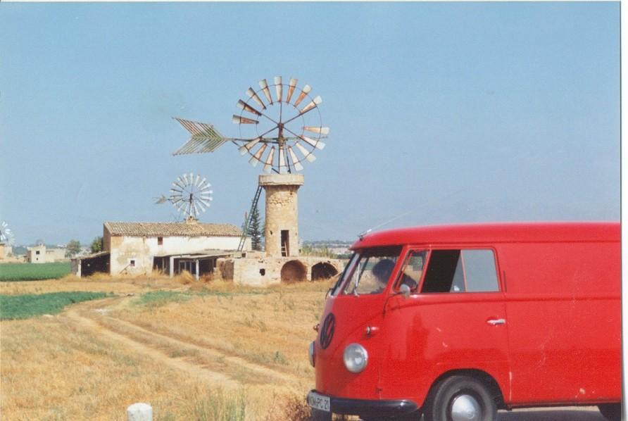 Mit dem 58er Bulli auf Mallorca