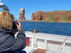 Mit dem Börteboot um Helgoland