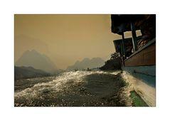 Mit dem Boot nach Luang Prabang
