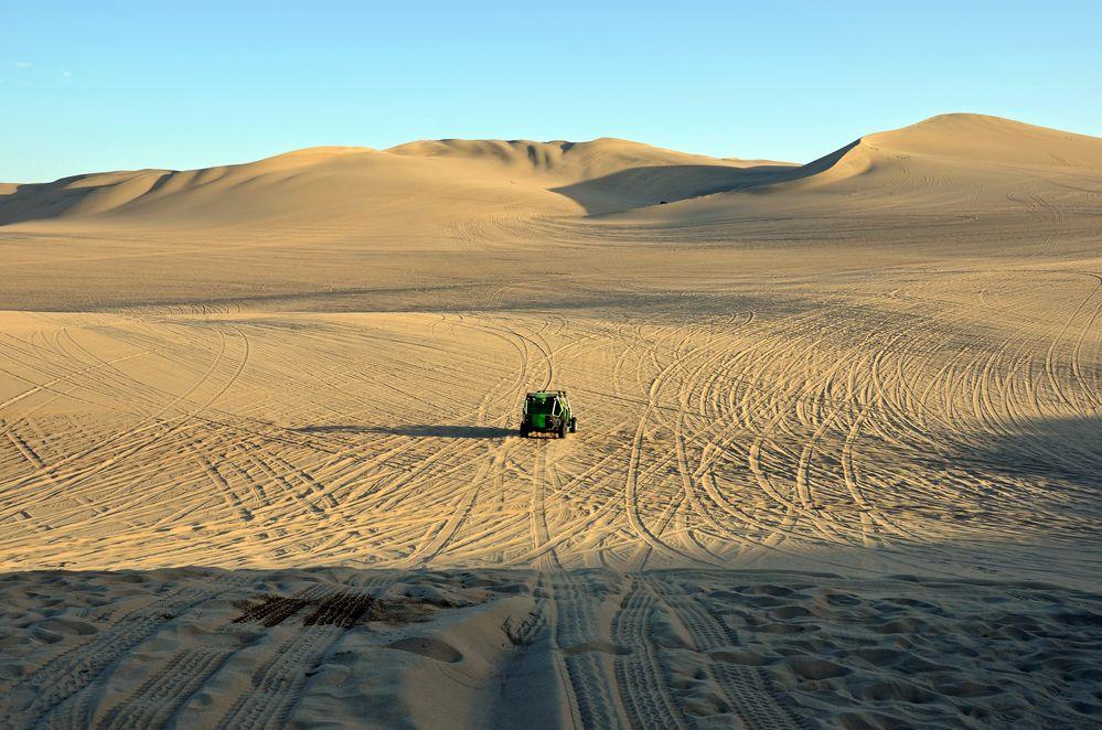 Mit dem Buggy in den Dünen von Huacachina