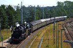 Mit dem Dampfzug durch Deutschland