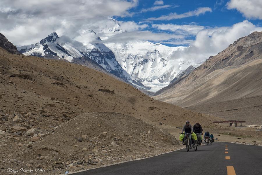 Mit dem Fahrrad durch Tibet
