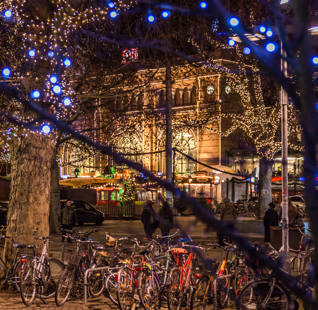 Hannover Weihnachtsmarkt.Mit Dem Fahrrad Zum Weihnachtsmarkt Hannover Foto Bild