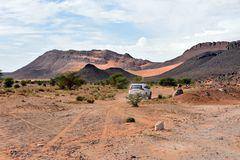 Mit dem Jeep in der Wüstenregion bei Tafraout Hassi Fougani