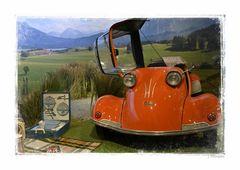 - mit dem Kabinenroller nach Bayern -