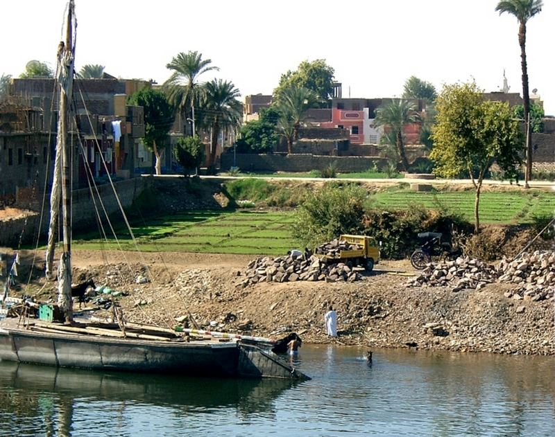 Mit dem Nil leben