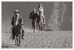 Mit dem Pferd zum Krater vom Mount Bromo