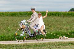 Mit dem Rad zur Hochzeit