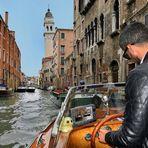 Mit dem Rivaboot durch Venedig