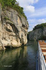 Mit dem Schiff durch den Donaudurchbruch