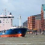 Mit dem Schiffchen in die Stadt