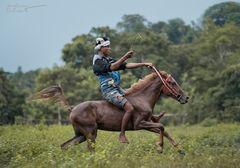 Mit dem Selbstvertrauen der Jugend ~ Pasola, Sumba Barat