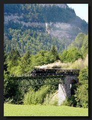 Mit dem Wälderbähnle über die Bregenzerach