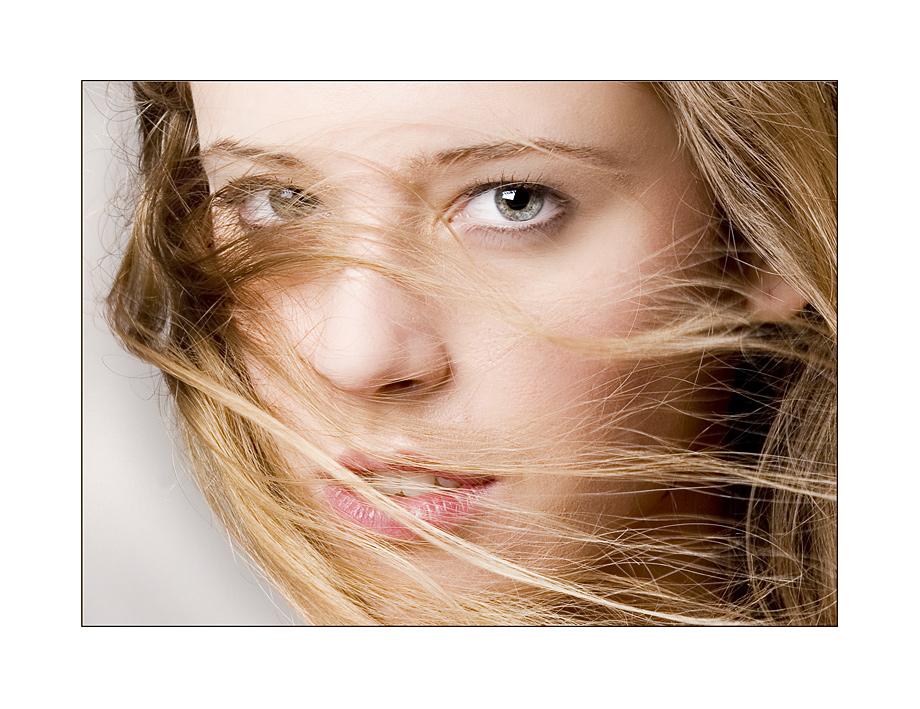 ... mit dem Wind im offenen Haar