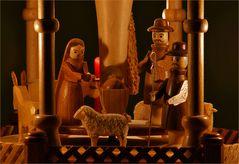 Mit den Hirten im Stall von Bethlehem