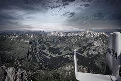 Mit den Tragschraubern  in den Alpen