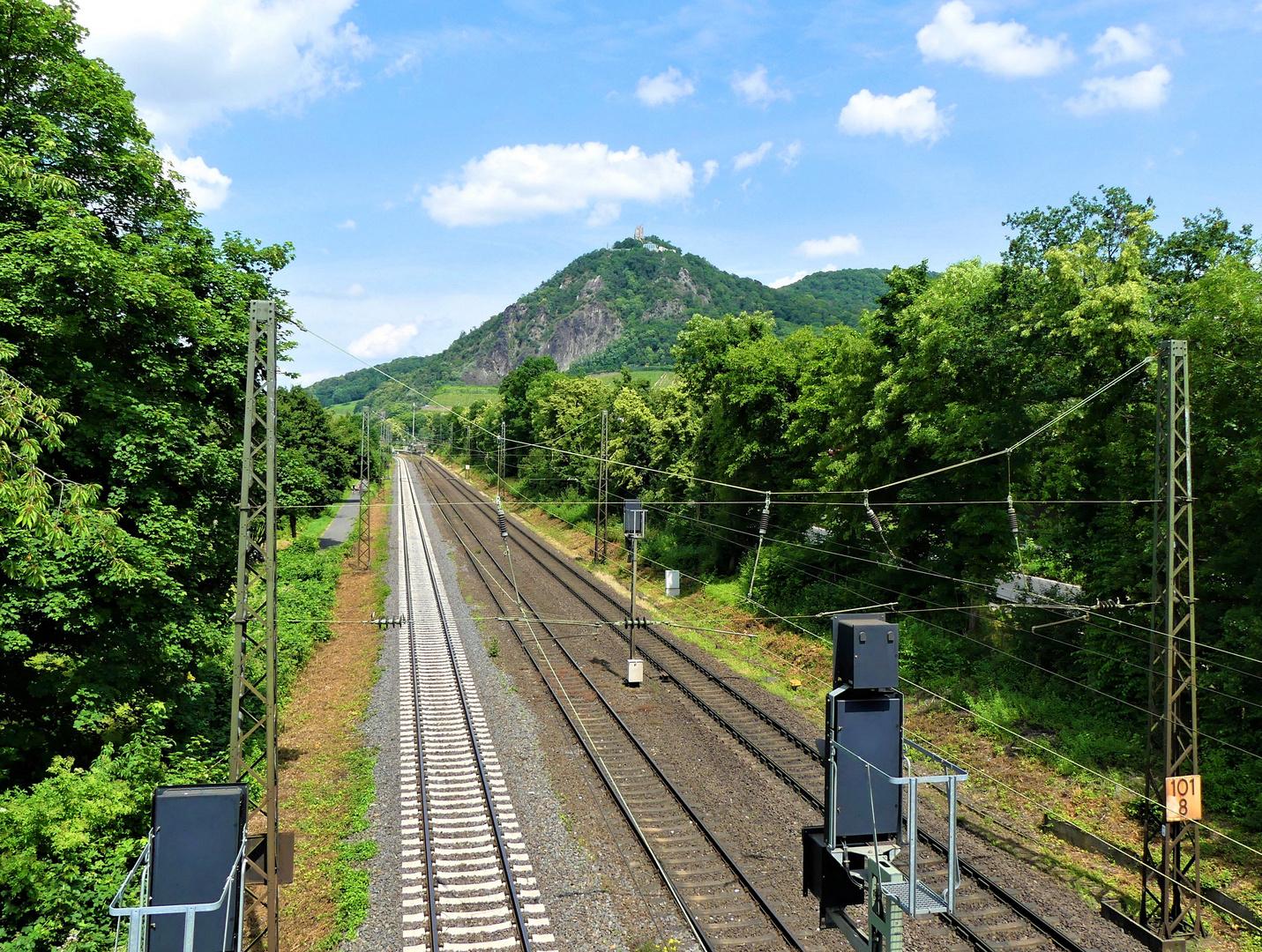 ... mit der Bahn durch's Rheintal